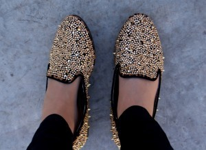 Chelsea Crockett- studded flats