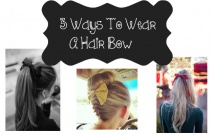 3 Ways To Wear A Hair Bow
