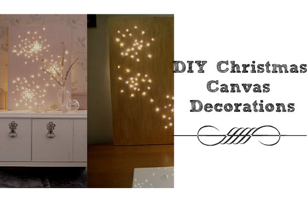 Diy christmas canvas decorations chelsea crockett for Decoration 75017