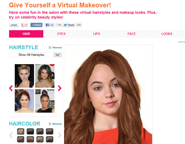 Are You Up For A Virtual Makeover Chelsea Crockett
