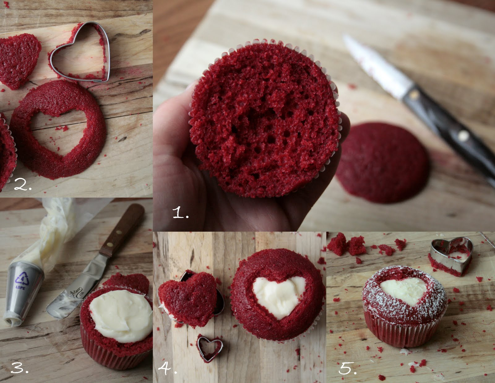 chelsea crockett valentines day heart cupcakes
