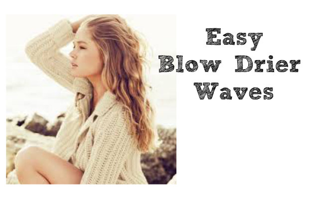 chelsea crockett easy blowdrier waves