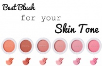 Best Blush for you Skin Tone