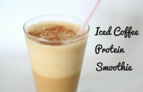 Iced Coffee Protein Smoothie