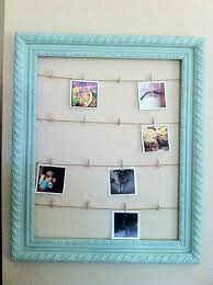 Chelsea Crockett- hanging photos with twine