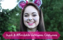 Quick & Affordable Halloween Costumes!