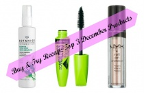Buy & Try Recap: Top 3 Products