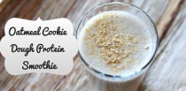Oatmeal Cookie Dough Protein Smoothie