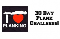 30 Day Plank Challenge!