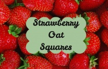 Strawberry Oat Squares