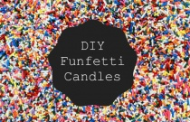 DIY Funfetti Candles