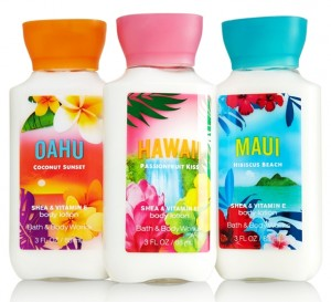 Chelsea Crockett - Bath and Body Hawaiian Scents