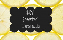 DIY Frosted Lemonade