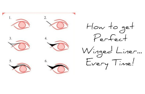 chelseas crockett How to get Perfect Winged Liner...Every Time