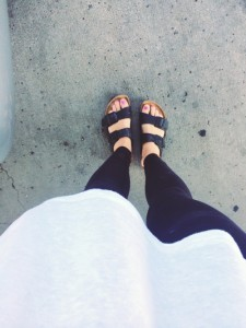 Chelsea Crockett - Birkenstocks
