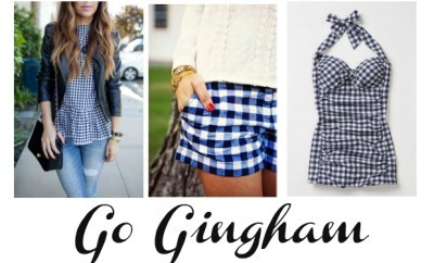 chelsesa crockett Go Gingham