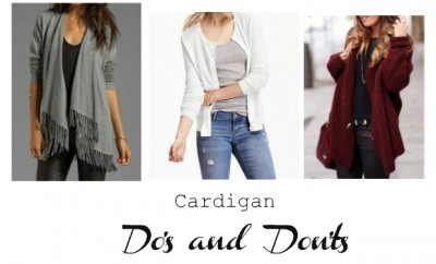 Chelea Crockett Cardigan dos and donts