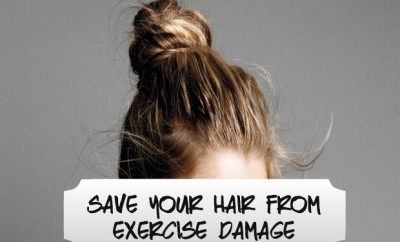 chelsea crockett Save Your Hair from Exercise Damage