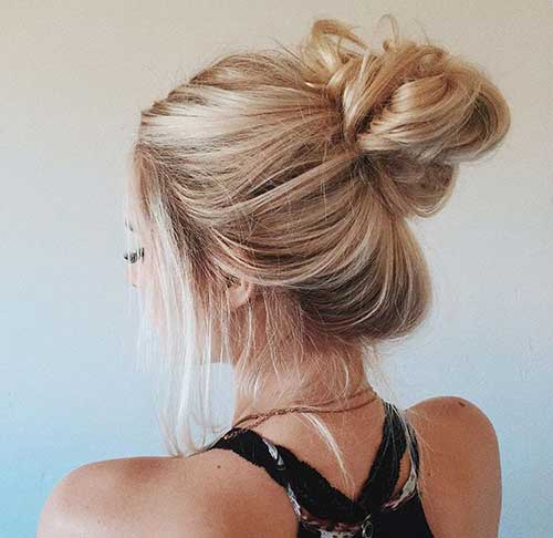 Messy-Buns-Blonde-Hair