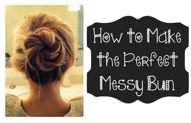 chelsea crockett How to Make the Perfect Messy Bun