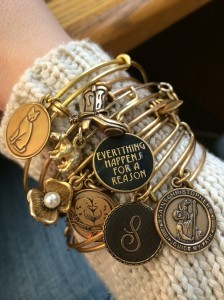 Chelsea Crockett - Alex and Ani Bangles