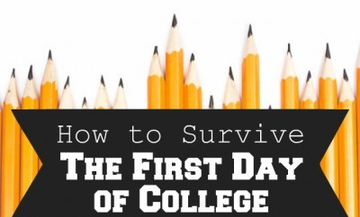 chelsea crockett How to Survive the First Day of College