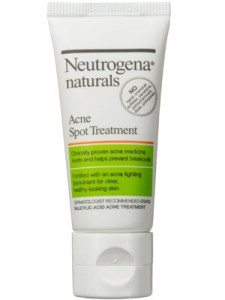 How To Use Neutrogena Naturals Acne Spot Treatment