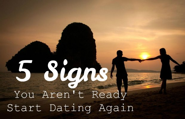 Signs you are ready to start dating again