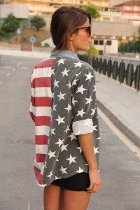 Chelsea Crockett - Fourth of July Jacket