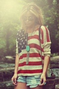 Chelsea Crockett - Fourth of July Sweater