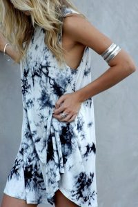 Chelsea Crockett - Acid Wash Dress