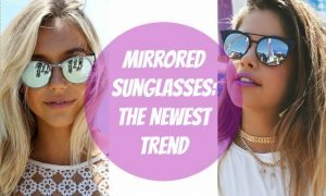 Chelsea Crockett - Mirrored Sunglasses