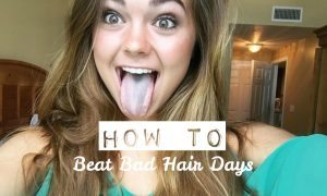 chelsea crockett how to beat bad hair days