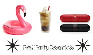 chelsea crockett pool party essentials