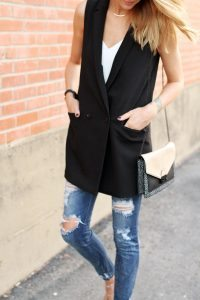 Chelsea Crockett - Long Line Vest