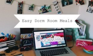 chelsea crockett easy dorm room meals