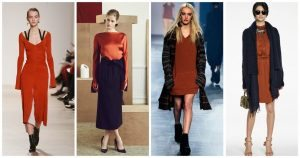 Chelsea Crockett - NYFW Muted Orange Trend