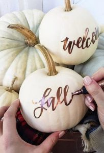Chelsea Crockett - Pumpkin Decor