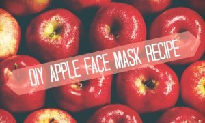 Chelsea Crockett - DIY Apple Face Mask Recipe