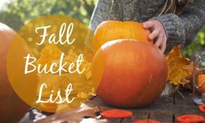 Chelsea Crockett - Fall Bucket List