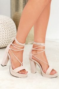 Chelsea Crockett - Wrap Heels