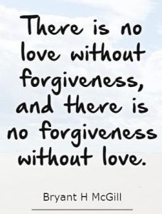 Chelsea Crockett - Forgiveness Quote