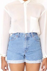 Chelsea Crockett - DIY High Waisted Shorts
