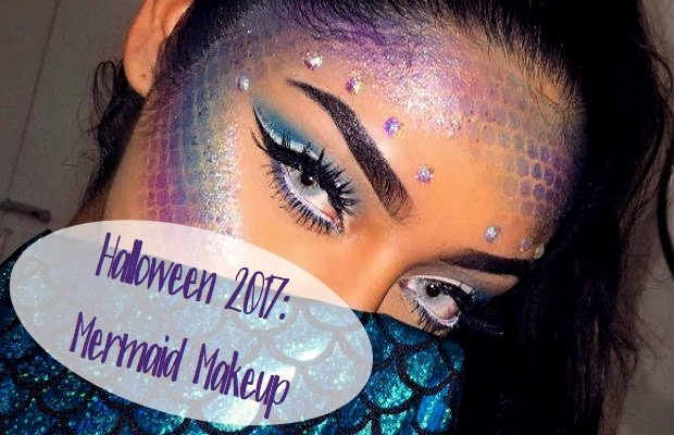 halloween 2017 mermaid makeup chelsea crockett. Black Bedroom Furniture Sets. Home Design Ideas