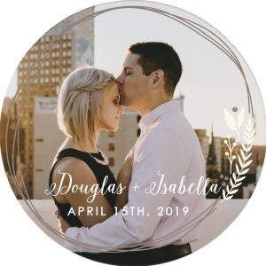 Chelsea Crockett - Photo Coasters Wedding Favors