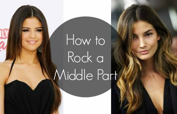 How To Rock A Middle Part Chelsea Crockett